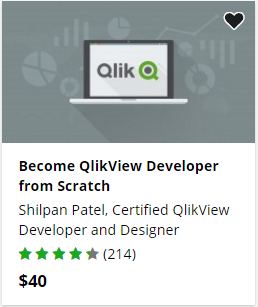 QlikView developer course